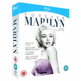 Forever Marilyn - 4 Film Collection [Blu-ray]