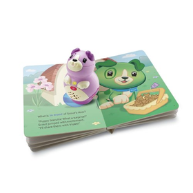 LeapFrog LeapReader Junior Violet Book Pal