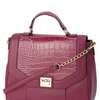 Karren Brady Plum Chain Handle Flap Over Bag - womens accessories - Sale & Offers