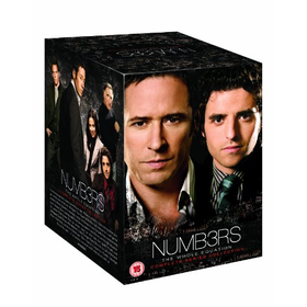 Numb3rs - Seasons 1-6 Complete [DVD]