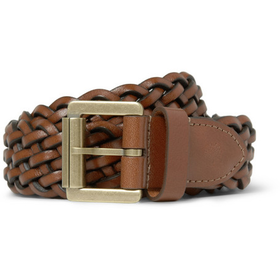 PRODUCT - Mulberry - Woven-Leather Belt - 365726 | MR PORTER