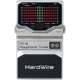 HardWire HT-6 Polyphonic Tuner for Guitar and Bass