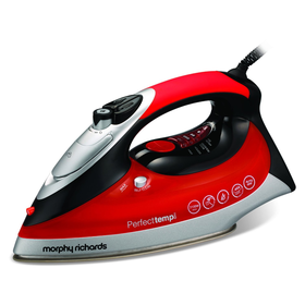 Morphy Richards Turbosteam 40699 Steam Iron Diamond Soleplate, Pl...