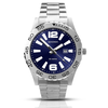 Sekonda Men's Quartz Watch with Blue Dial Analogue Display and Si...