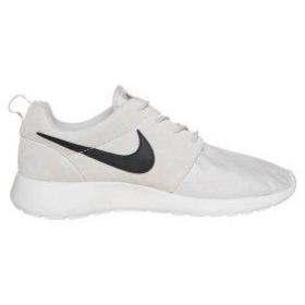 7b127827de83 Nike Sportswear ROSHE RUN SUEDE - Trainers - light ash grey black white -