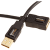 AmazonBasics USB 2.0 A-Male to A-Female Extension Cable 3 m / ...