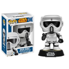 Funko POP Star Wars : Biker Scout Action Figure