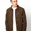 Vans Jacket Cheviot Blanket Check With Borg Lining