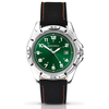 Sekonda Men's Quartz Watch with Green Dial Analogue Display and...