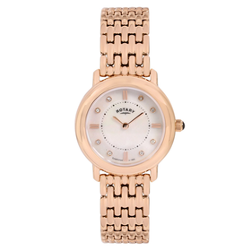 Rotary Timepieces Women's Quartz Watch with White Dial Analogue D...