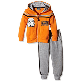 Star Wars Boys' Star Wars Rebel Clothing Set, Paprika