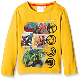 Marvel Boys' Avengers T-Shirt, Corn