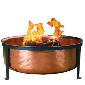 CobraCo Hand Hammered with Copper Fire Pit Tub