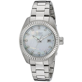 Invicta Women's Quartz Watch with Silver Dial Analogue Display and ...