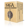 Saga Six Pack - Beowulf, The Prose Edda, Gunnlaug The Worm-Tongue, Eric The Red, The Sea Fight and S