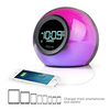 iHome iBT29BC Bluetooth Color Changing Dual Alarm Clock FM ...