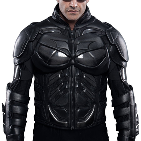 UD Replicas The Dark Knight Rises: Batman Motorcycle Suit Jacket, XX-Large