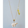 Catching A Show Polar Bear Necklace