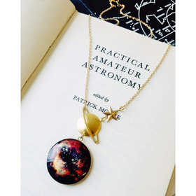 Ephemeris Planetary Nebula Locket