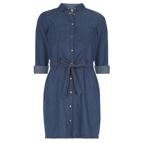 Midwash Denim Shirt Dress