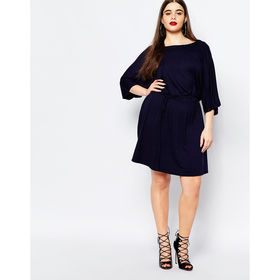 Club L Plus Dress With Kimono Sleeves
