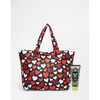 Anna Sui ASOS Exclusive Heart Print Make Up Bag with Handcream