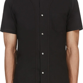 Black Baseball Shirt