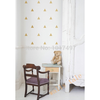 Aliexpress.com : Buy Free shipping Gold Triangle Vinyl Wall Decal Sticker , Gold Geometric patterns