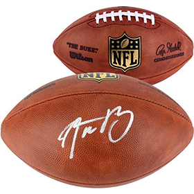 Green Bay Packers Aaron Rodgers Autographed Football - Fanatics A...