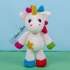 Nuru the Unicorn Amigurumi - PDF Crochet Pattern - Instant Download - Amigurumi crochet Cuddy Stuff