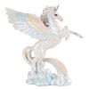 "9.75"" Winged Unicorn Statue Fantasy Magic Figurine Collectible Decor Fantasy"