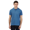 Red Herring Blue pique logo polo shirt
