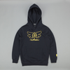 Huf X Slap Butterfly Hooded Sweatshirt - Navy