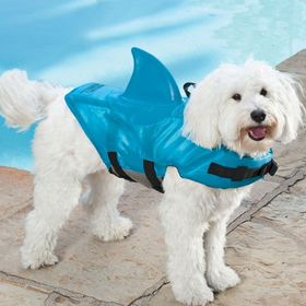Shark Flotation Vest for Dogs