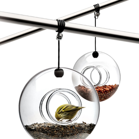 Eva Solo Hanging Bird Feeder, Hand Blown Glass