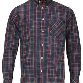 Buy Merc Neddy Tartan Check Shirt online at John Lewis