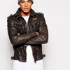Superdry Ryan Leather Jacket | ASOS