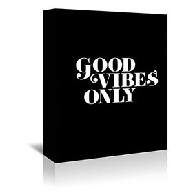 Americanflat 'Good Vibes Only 2' Gallery Wrapped Canvas Artwork ...