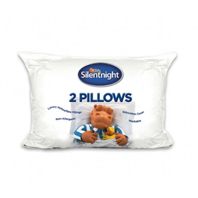 Silentnight Hollowfibre Pillow, Pack of 2