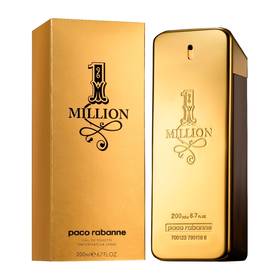 Paco Rabanne 1 Million Eau De Toilette Spray 200ml