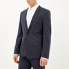 Petrol blue slim suit blazer