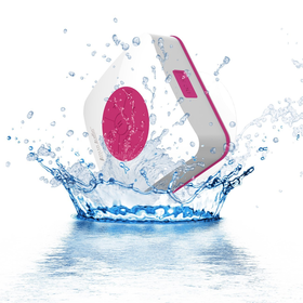AquaAudio Cube - Mini Ultra Portable Waterproof Bluetooth Wireless Stereo Speakers with Suction Cup