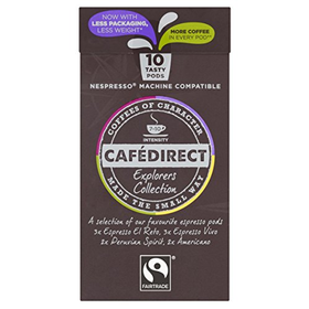 Cafédirect Fairtrade Nespresso Compatible Coffee Capsules Mixe...
