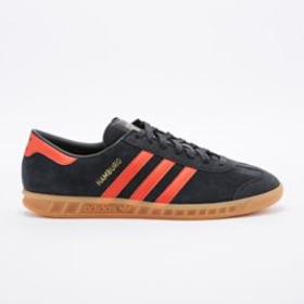 Adidas Hamburg Trainers in Black - Urban Outfitters