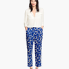 H&M Patterned trousers €£19.99
