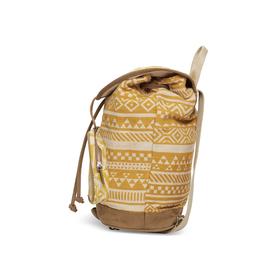Saffron Ikat Traveler Backpack