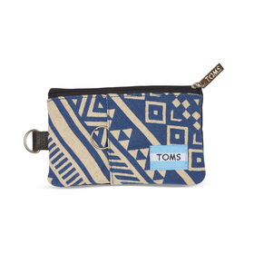 Indigo Ikat Traveler Passport Holder