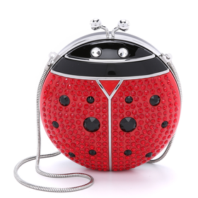 Spring Forward Lady Bug Minaudiere