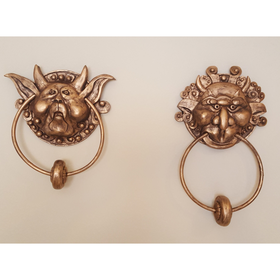 The Labyrinth Door Knockers Pair