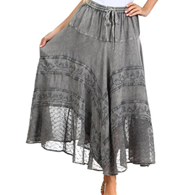 Save an Additional 20% Off Sakkas Ivy Maiden Boho Skirt
